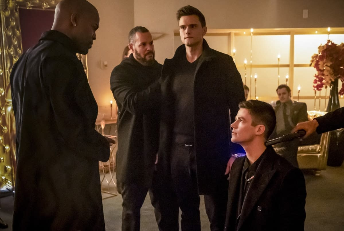 """'The Flash' Preview – """"Goldfaced"""": Will Ralph and Barry Break Bad to Stop Cicada? [VIDEO, IMAGES]"""