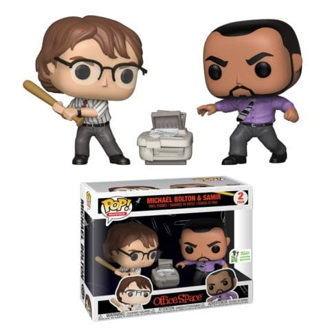 Funko ECCC Office Space Michael Bolton and Samir Target