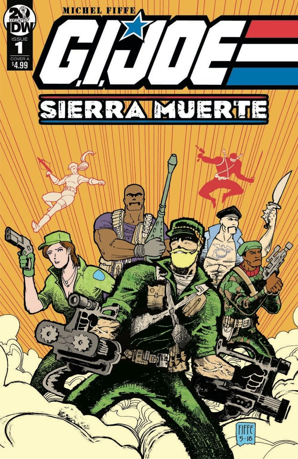 Raiding Dr. Venom's Stash in Tomorrow's GI Joe Sierra Muerte #1