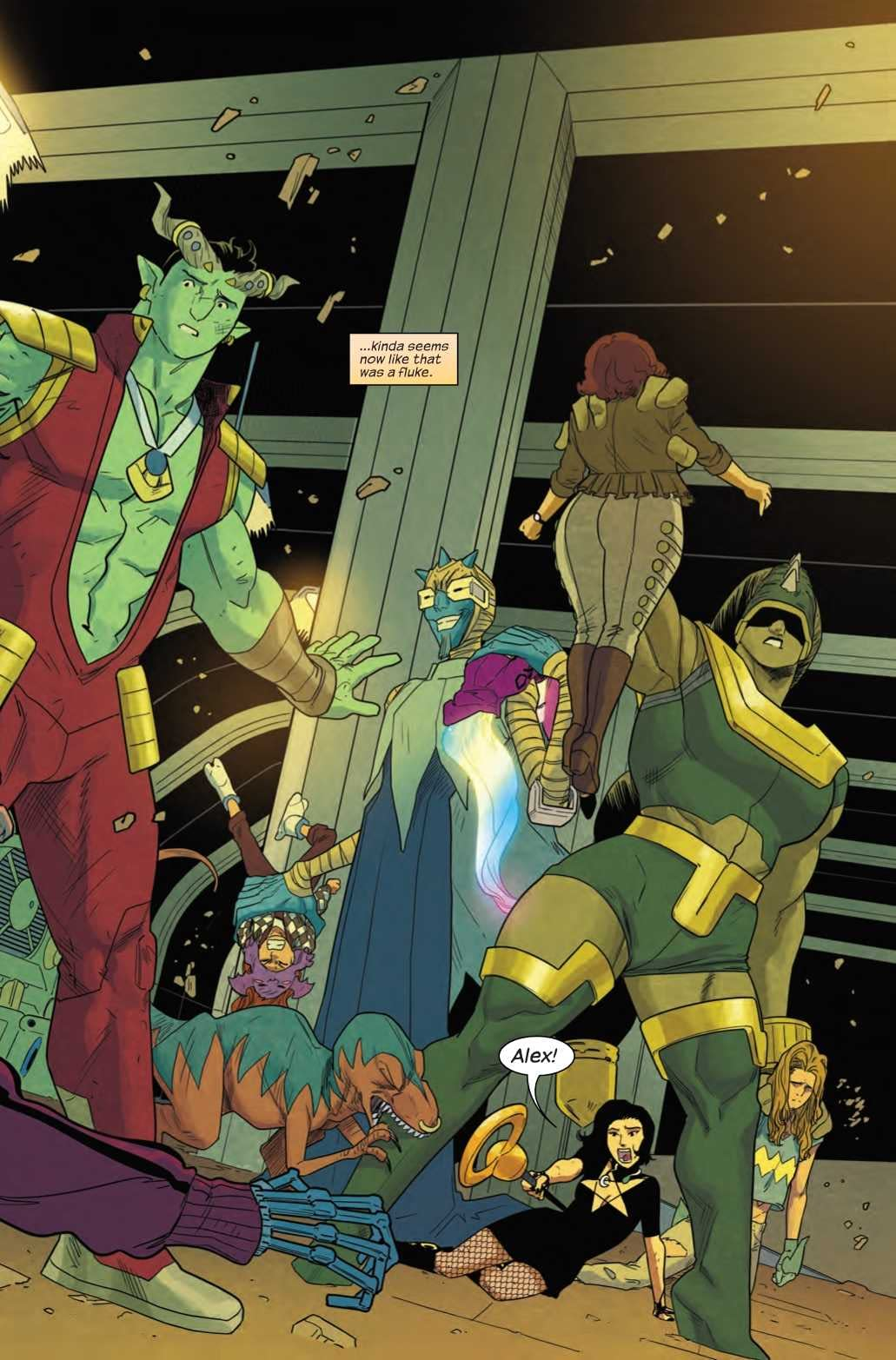 Do Androids Dream of Electric Sheep in Next Week's Runaways #18