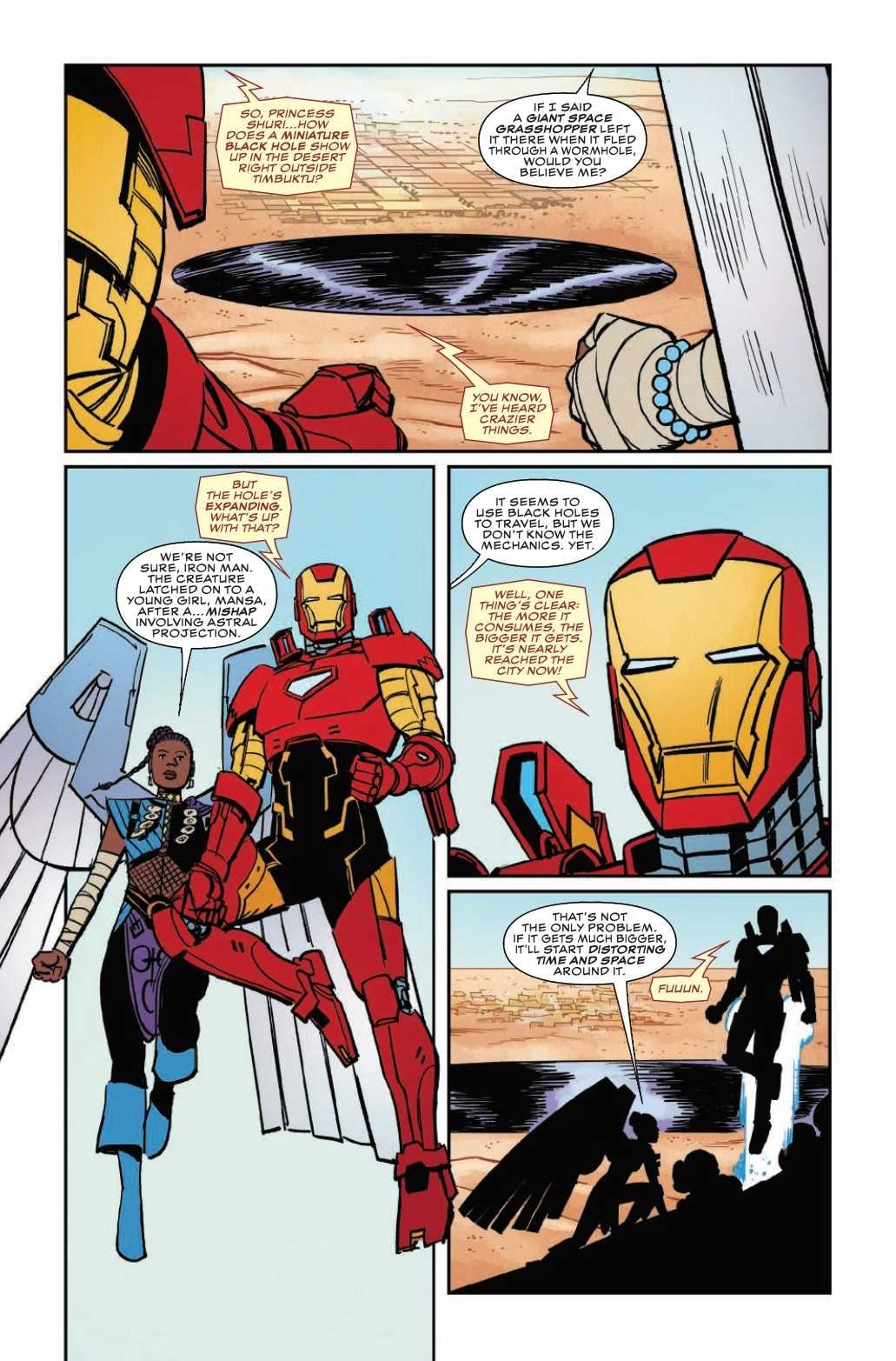 Terrible Ideas Follow Iron Man Everywhere in Next Week's Shuri #5 (Preview)
