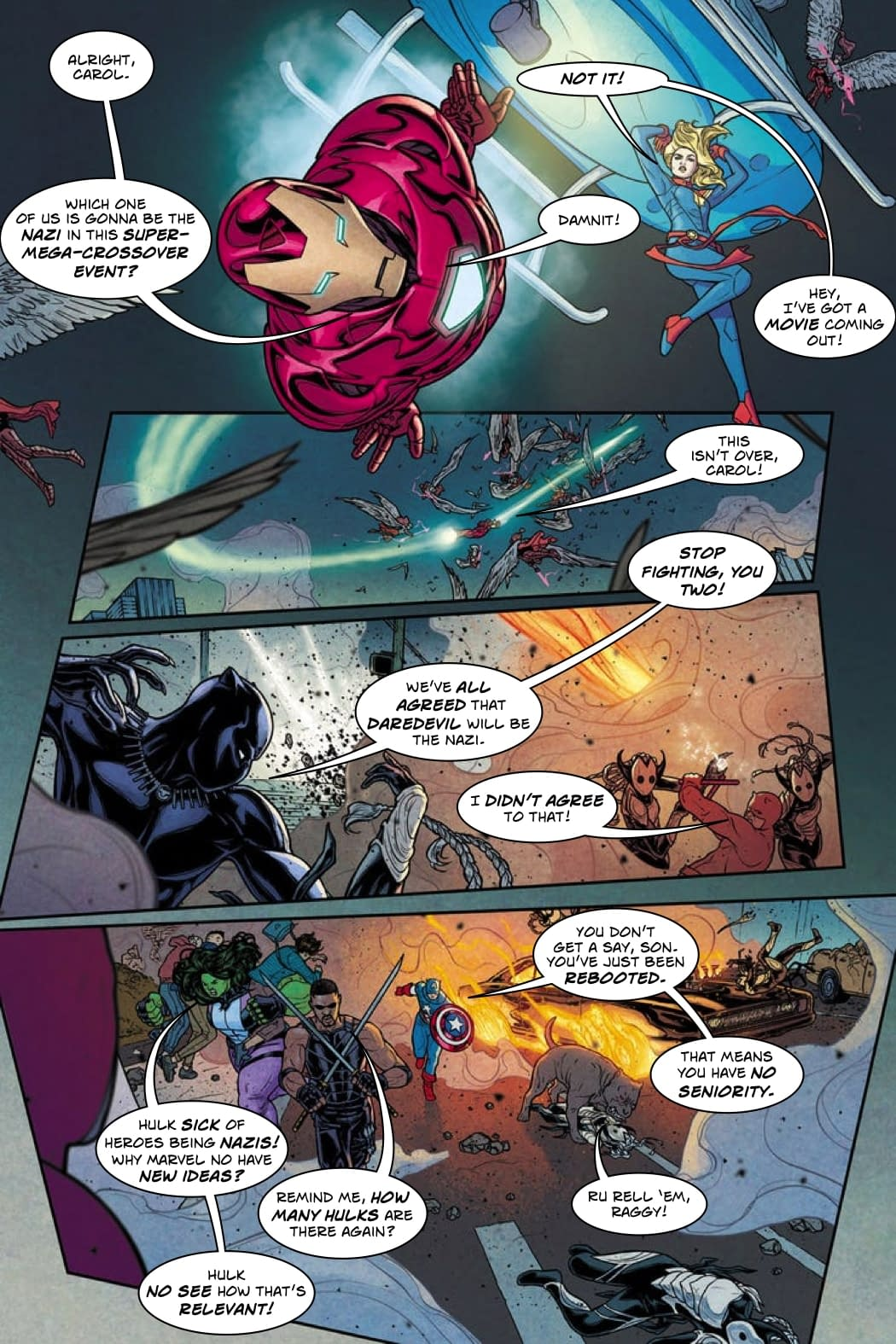 Who Gets to Be the Nazi in War of the Realms #1 [Improbable Previews]
