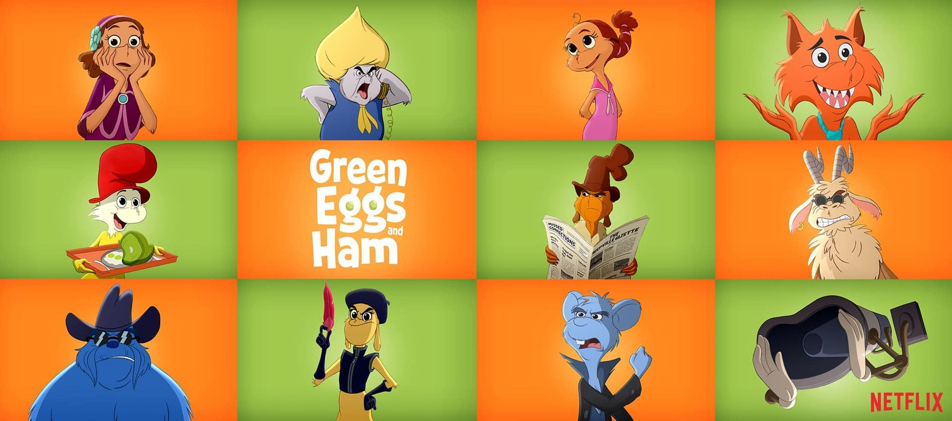 'Green Eggs and Ham': Netflix's Animated Series Serves Up Teaser, Voice Cast