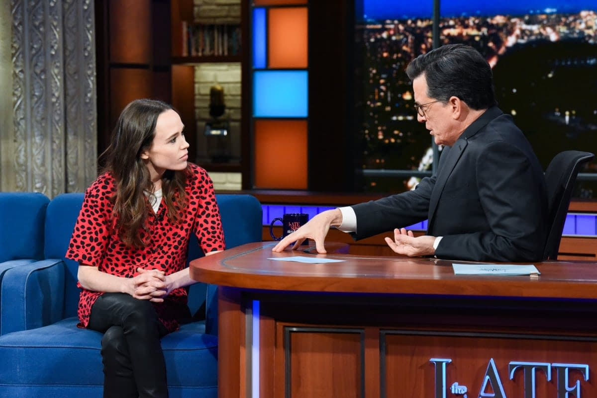 """Umbrella Academy's Ellen Page On Trump, Pence and Hateful Leadership: """"This Needs to F***ing Stop"""" [VIDEO]"""