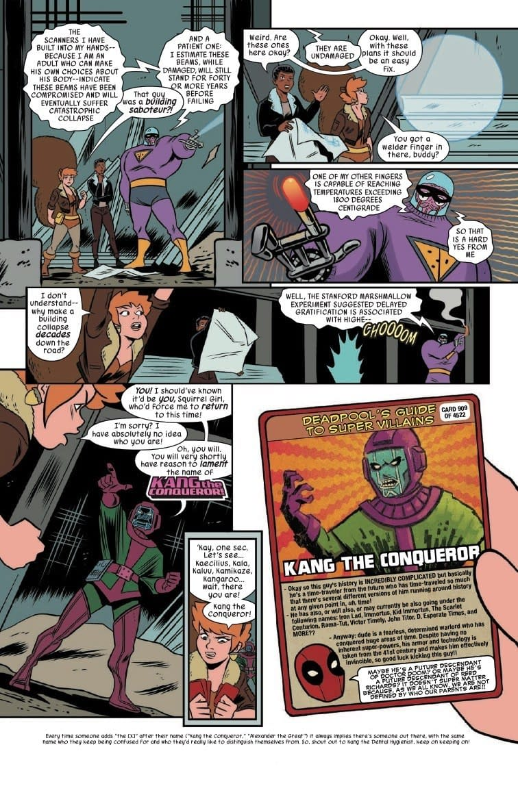 Superman's Motto Gets a Post-Apocalyptic Squirrelese Reboot in Unbeatable Squirrel Girl #42