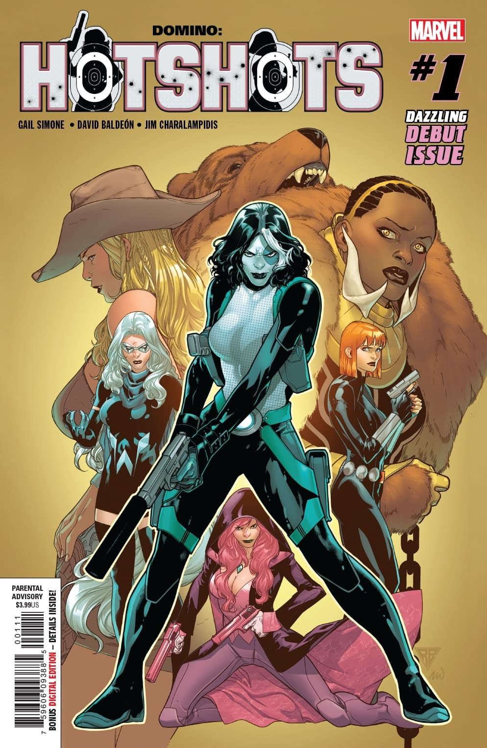 """Gail Simone Says We Could Get More Domino After Hotshots, the """"Most Efffed Up Thing"""" She's Ever Written"""