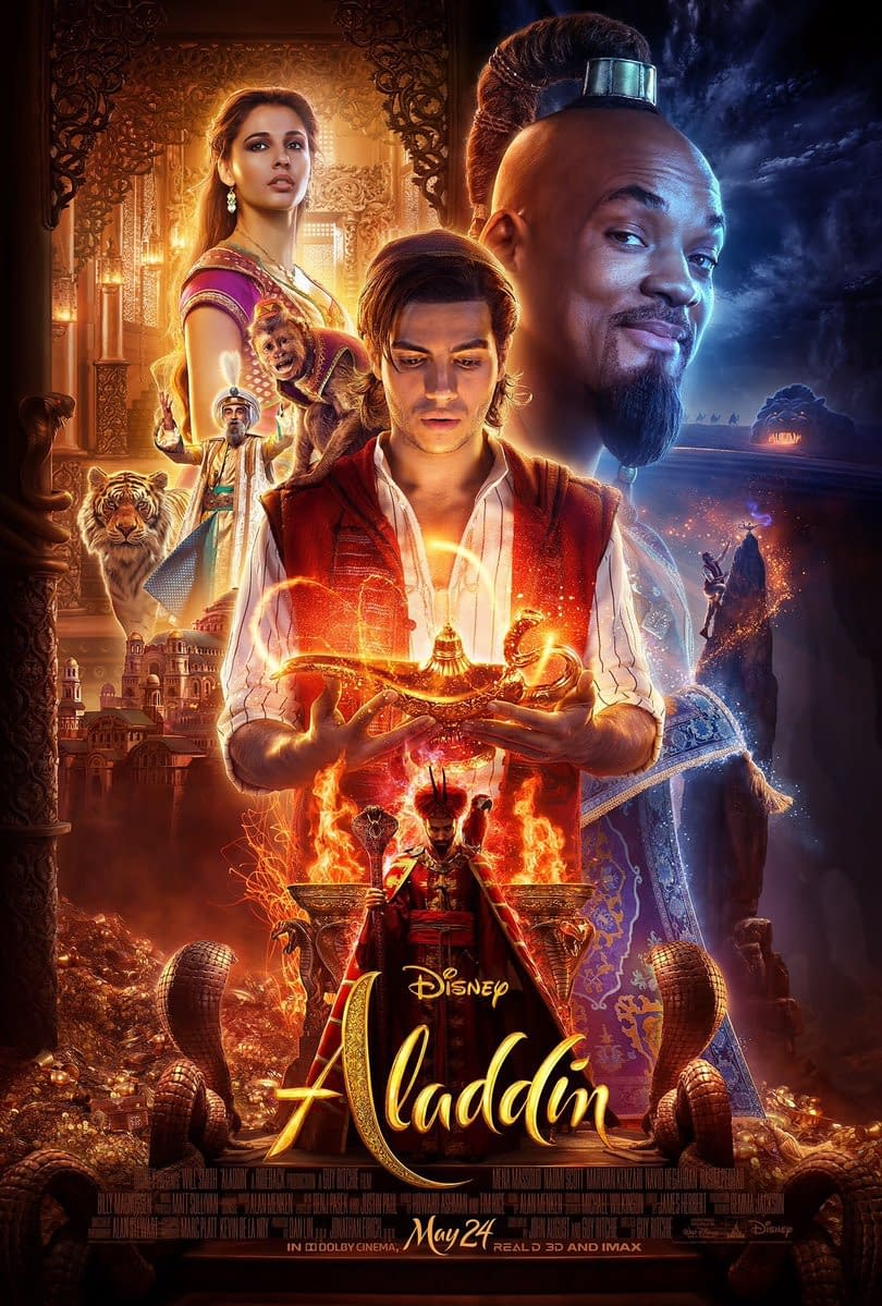 [CinemaCon 2019] Disney Previews Clips from Aladdin, The Lion King, BTS Featurette for Maleficent 2