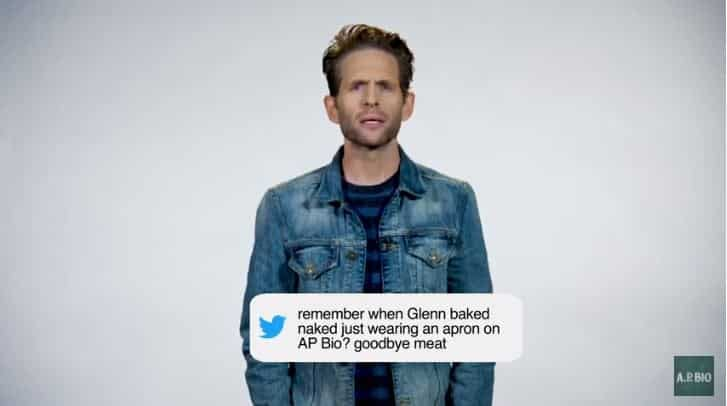 "'A.P. Bio' Season 2: It's Always Sunny's Glenn Howerton Quenches ""Glirsty"" Tweets [VIDEO]"