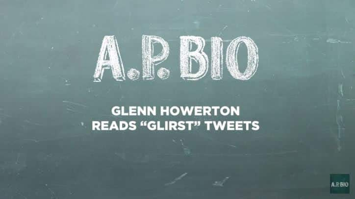 "'A.P. Bio' Season 2: It's Always Sunny's Glenn Howerton Quenches ""Glirsty"" Tweets [VIDEO]"