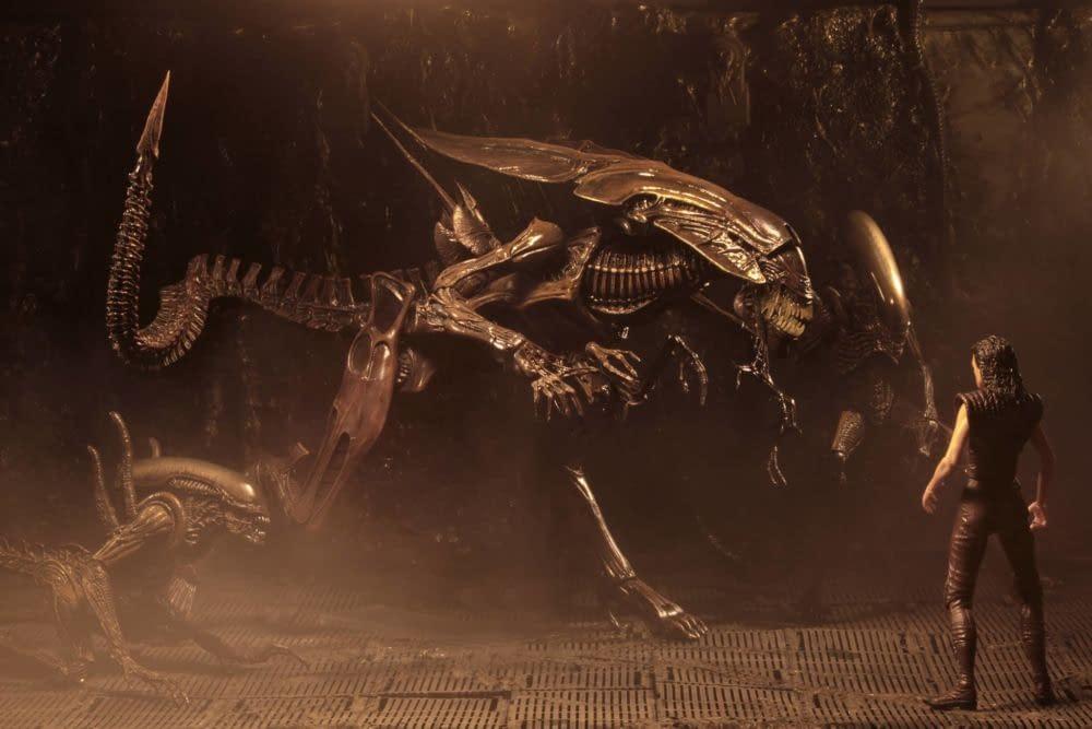 NECA Releasing Alien: Resurrection Ultra Deluxe Alien Queen This Summer