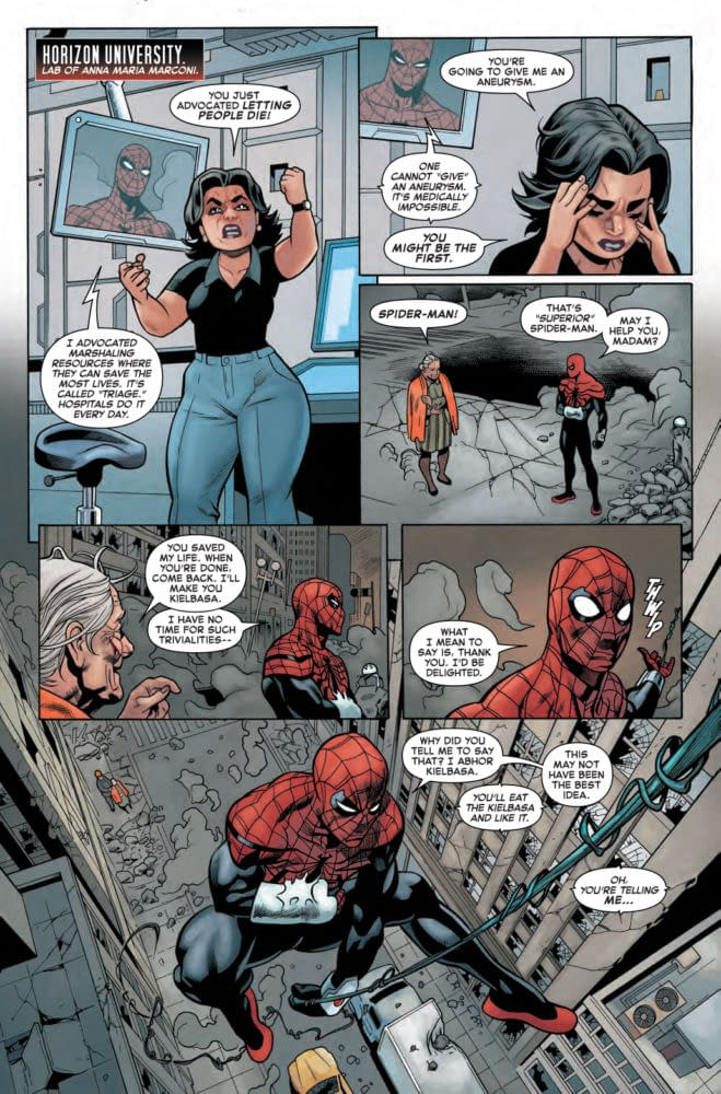 Otto Octavius Learns About Emotional Intelligence in Next Week's Superior Spider-Man #4