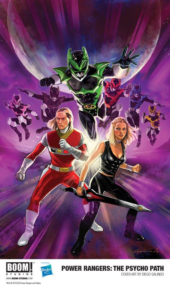 Psycho Rangers Star in New Power Rangers OGN