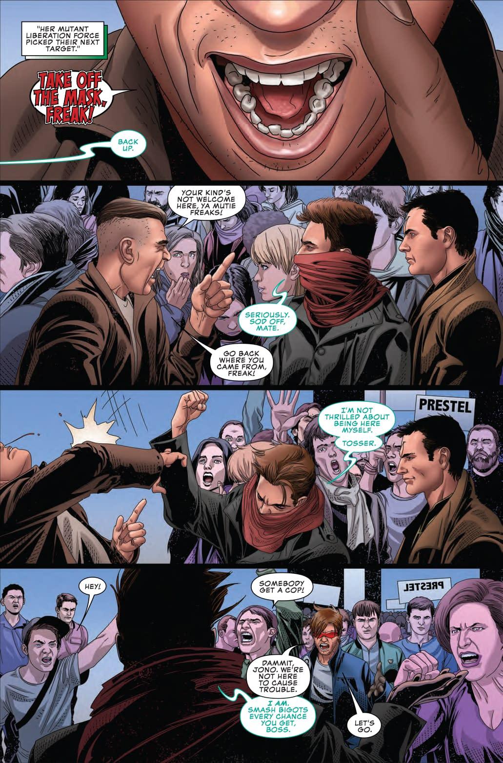 The Audacity of Captain America in Next Week's Uncanny X-Men #15