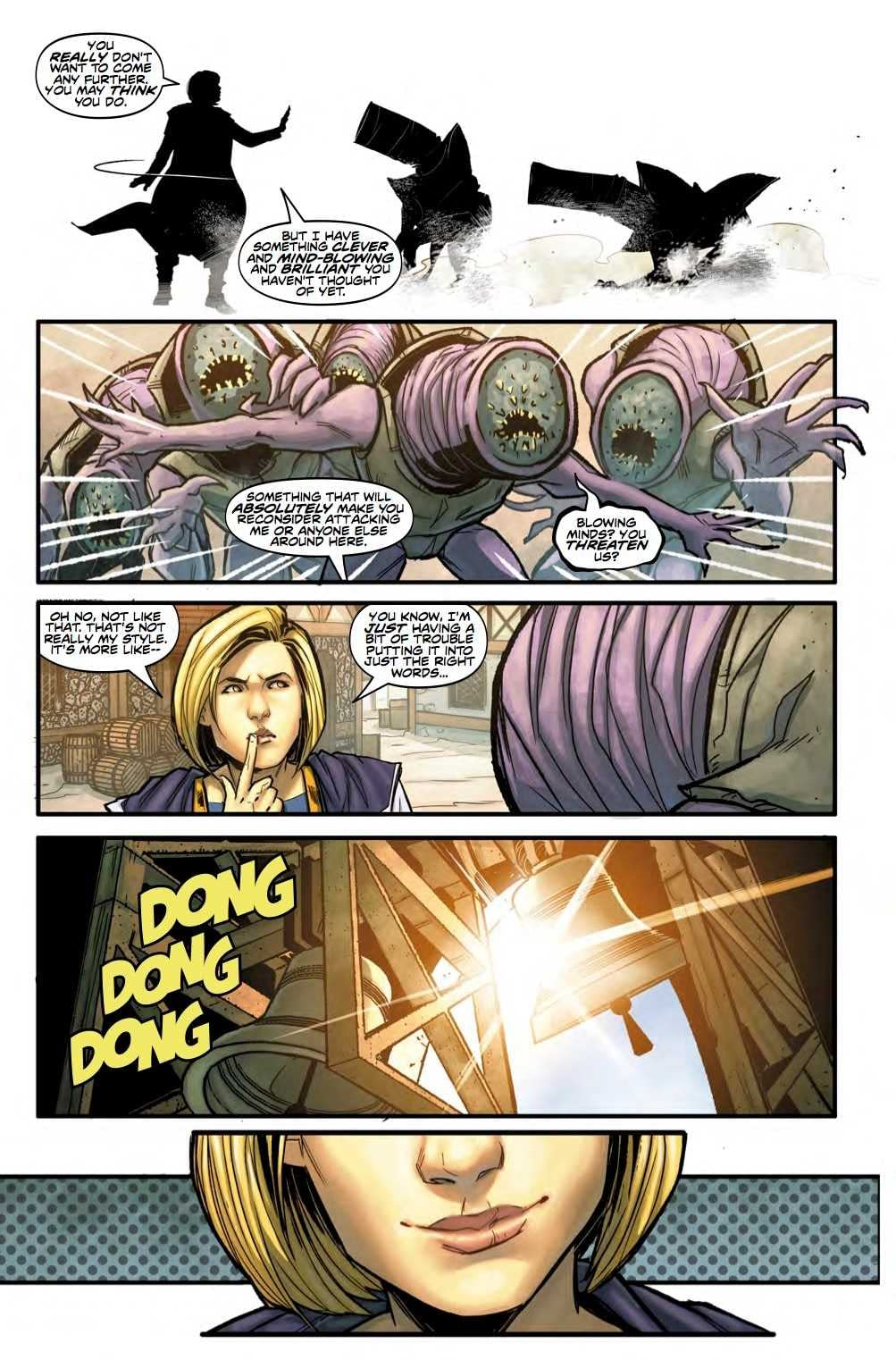 The Doctor is Still Winging it in Next Week's Doctor Who #6