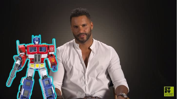 'American Gods': Ricky Whittle's Optimus Prime Obsession More Than Meets The Eye [VIDEO]