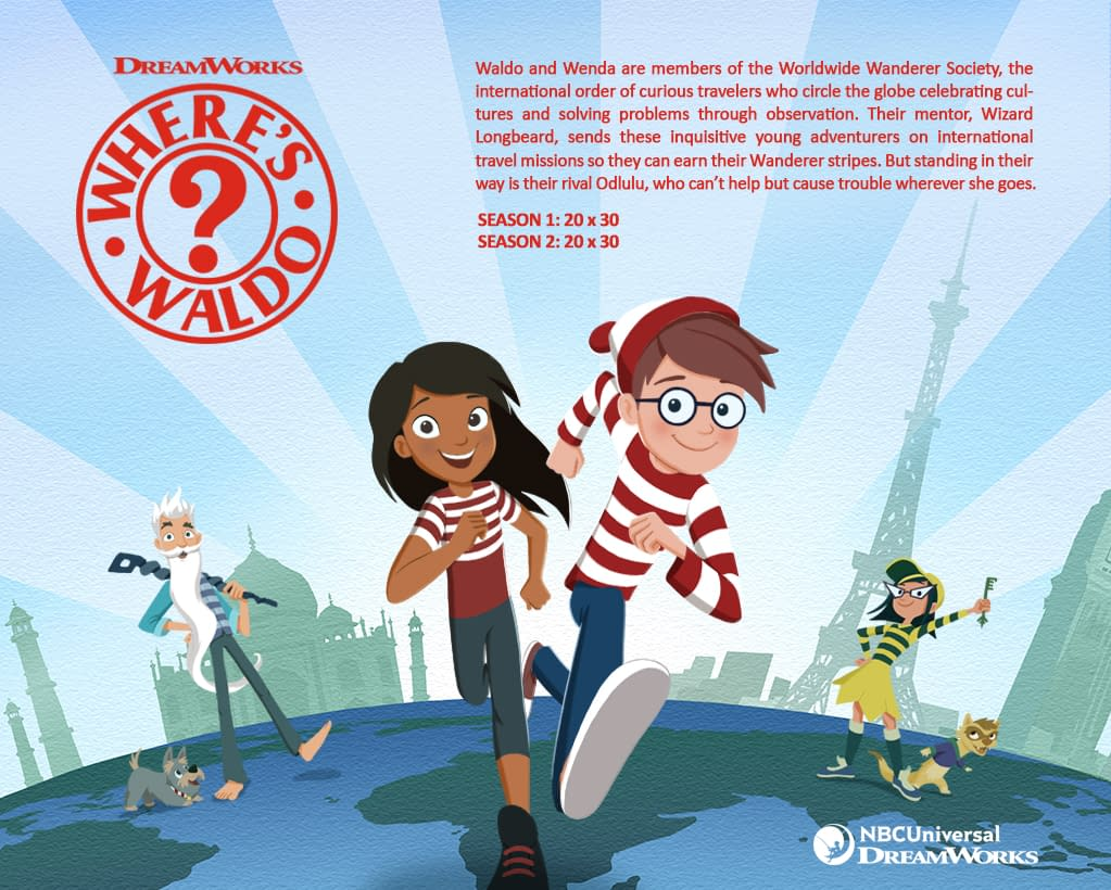 'Where's Waldo?': Joshua Rush, Haley Tju, Thomas Lennon and More Found for Animated Series