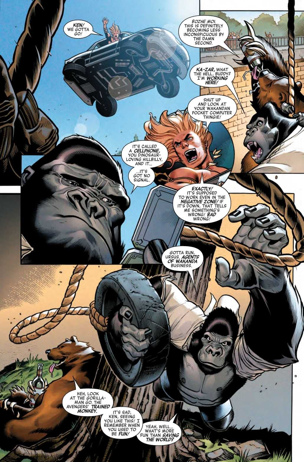 Finally, Proof of Russian Collusion in Avengers #19 (Preview)