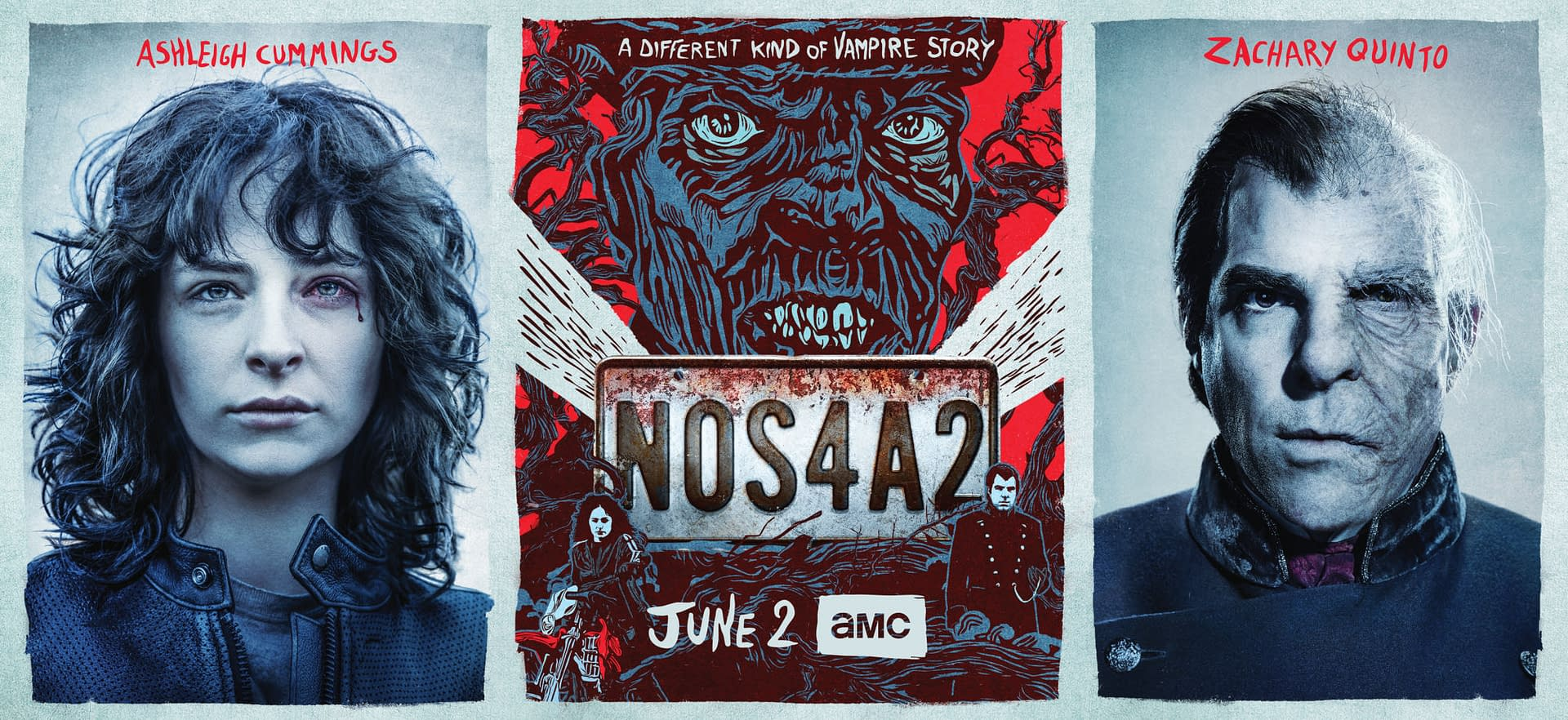 'NOS4A2' Cast, Creators Talk Vic McQueen, Charlie Manx, and Our Terrifying Imaginations [VIDEO]