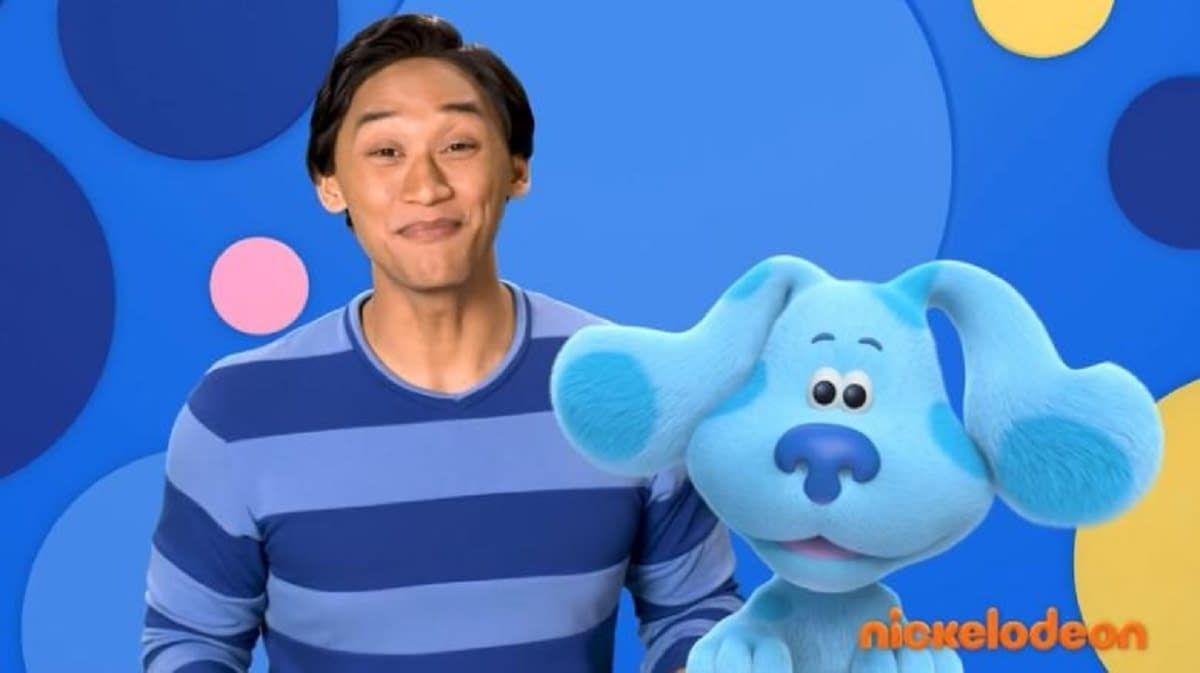 """""""Blue's Clues"""" is Back With an All-New Host and Old Friends!"""