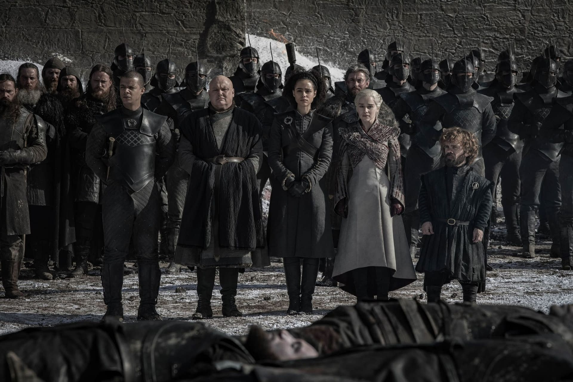 """4 Images from 'Game of Thrones' s8e4, The Aftermath of """"The Long Night"""""""