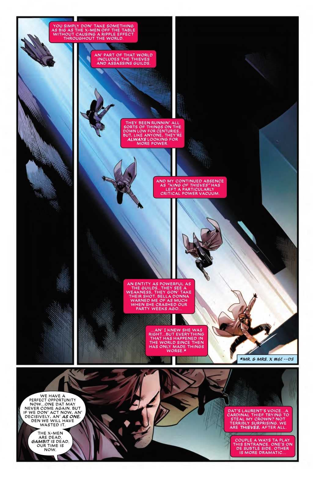 Does Gambit Still Want to Be an X-Man? Mr. and Mrs. X #11 Preview