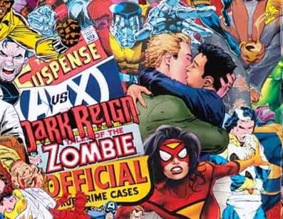 DC Comics Gay Kiss Featured on Marvel Comics #1000 Cover