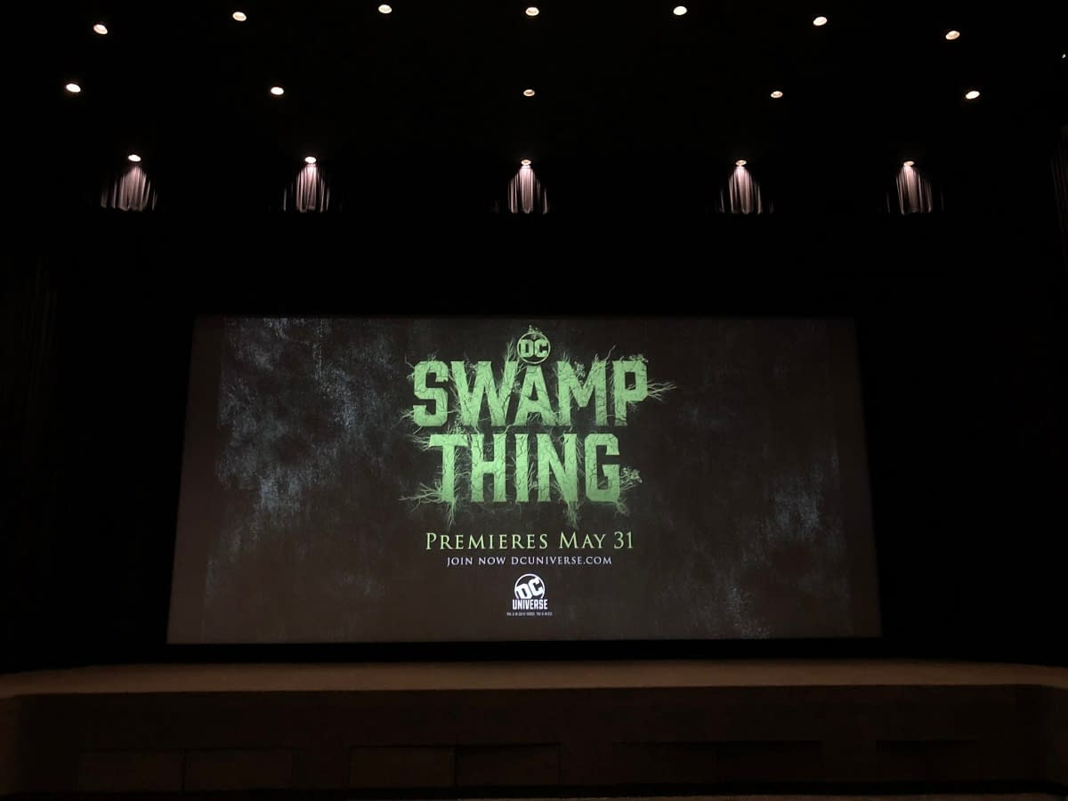'Swamp Thing': New Posters Embrace the Horror, Spotlight Abby Arcane [IMAGES]