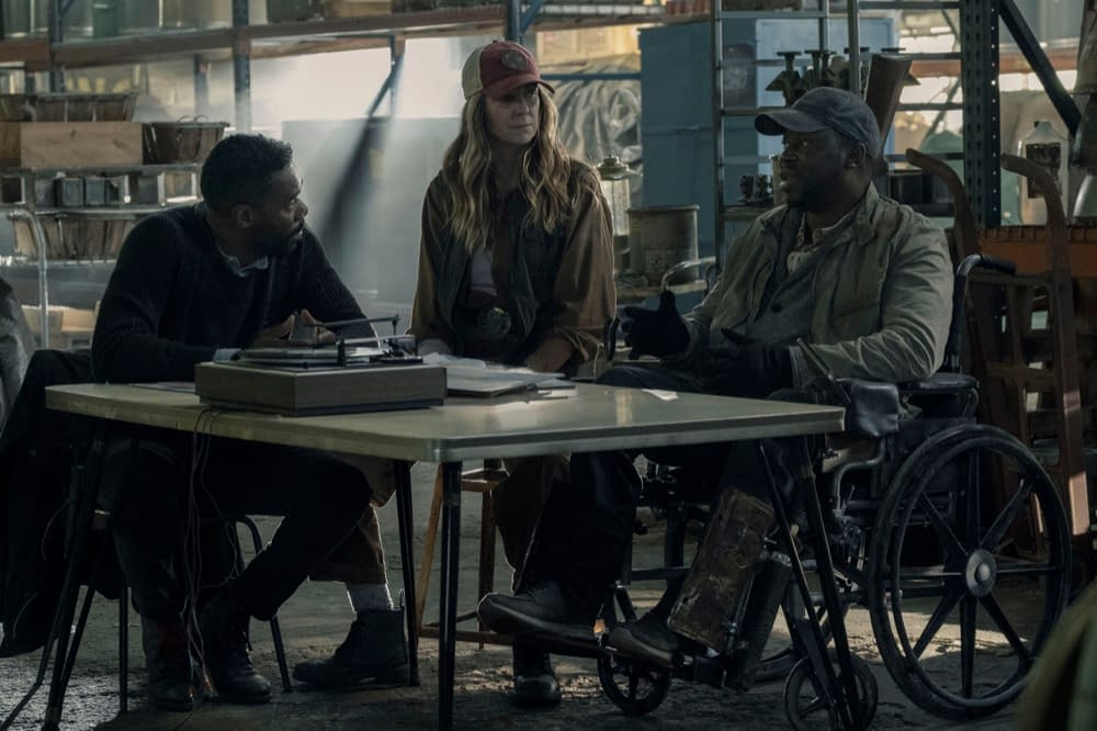 """""""Fear the Walking Dead"""" Season 5, Episode 4 """"Skidmark"""": Daniel Stays One Step Ahead of Strand [EXCLUSIVE PREVIEW]"""