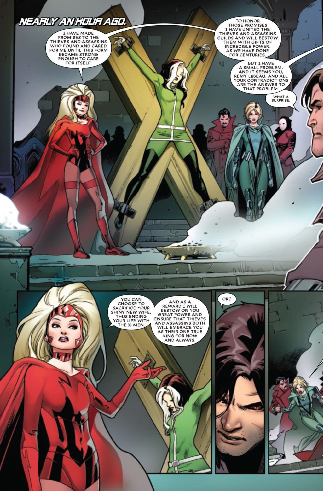 Gambit's Choice in Mr. and Mrs. X #12 (Finale Preview)