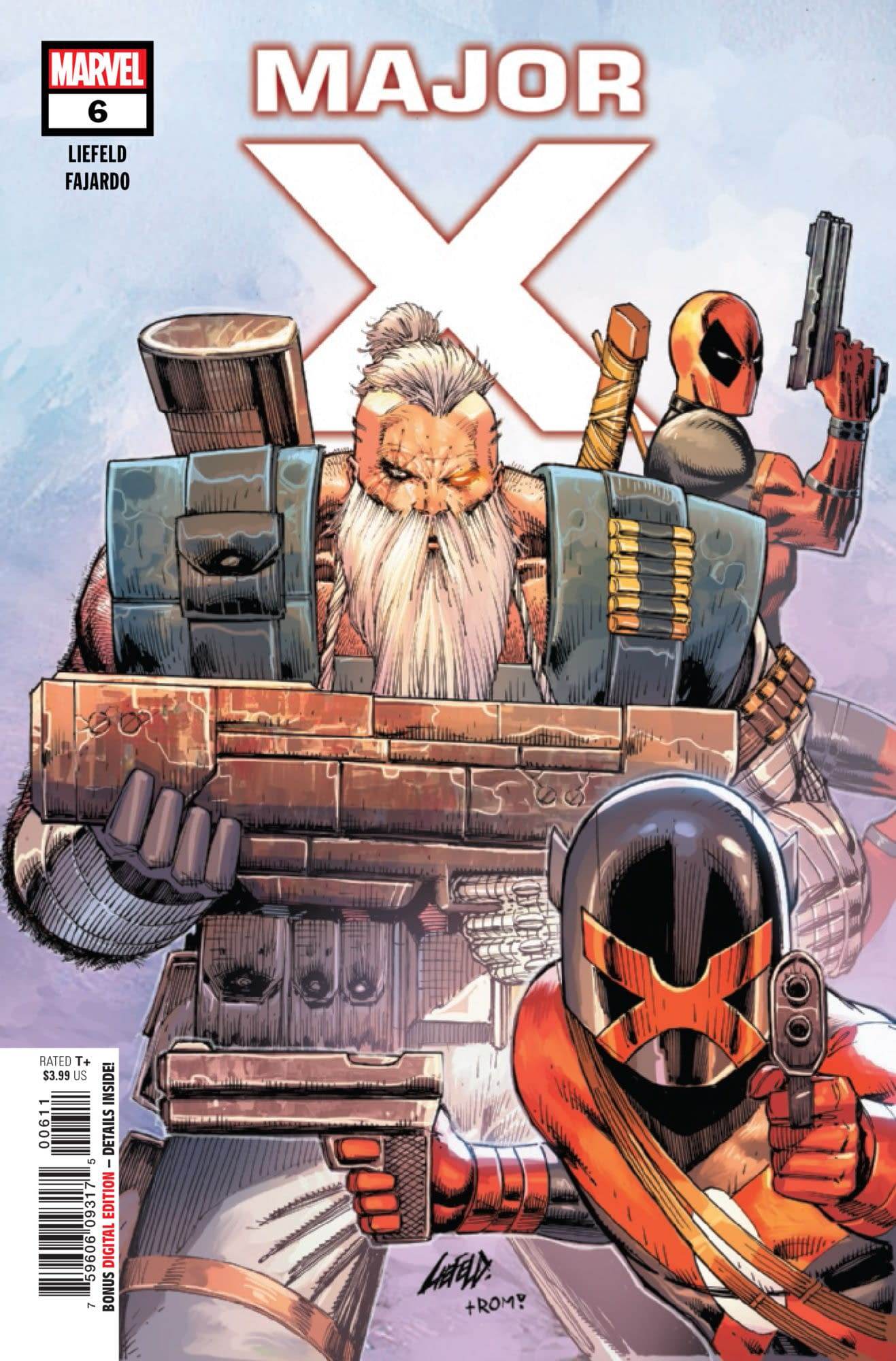 Deadpool Joins the Fight... But on Whose Side? Major X #6 Preview