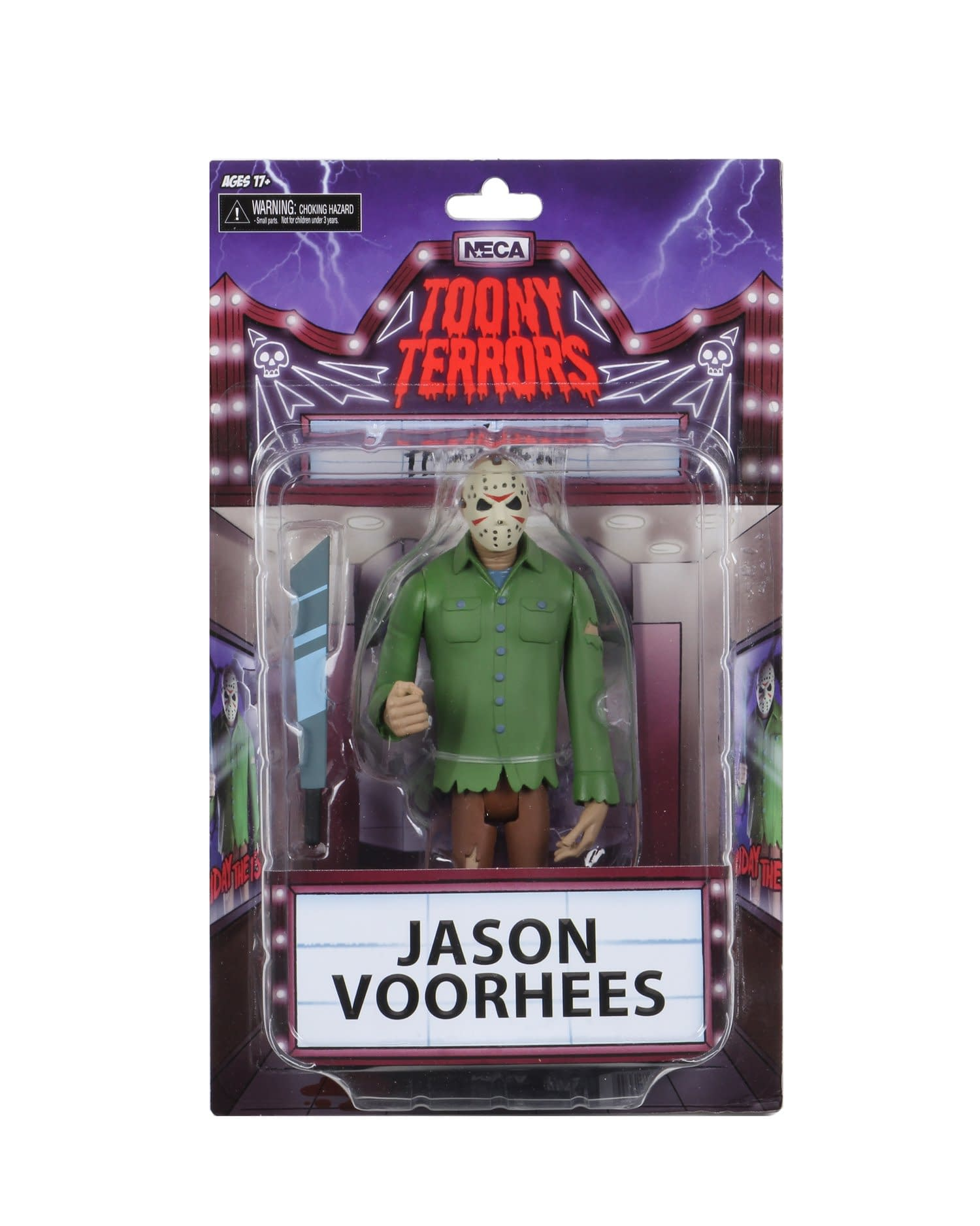 NECA Reveals Packaging for Toony Terrors Series 1