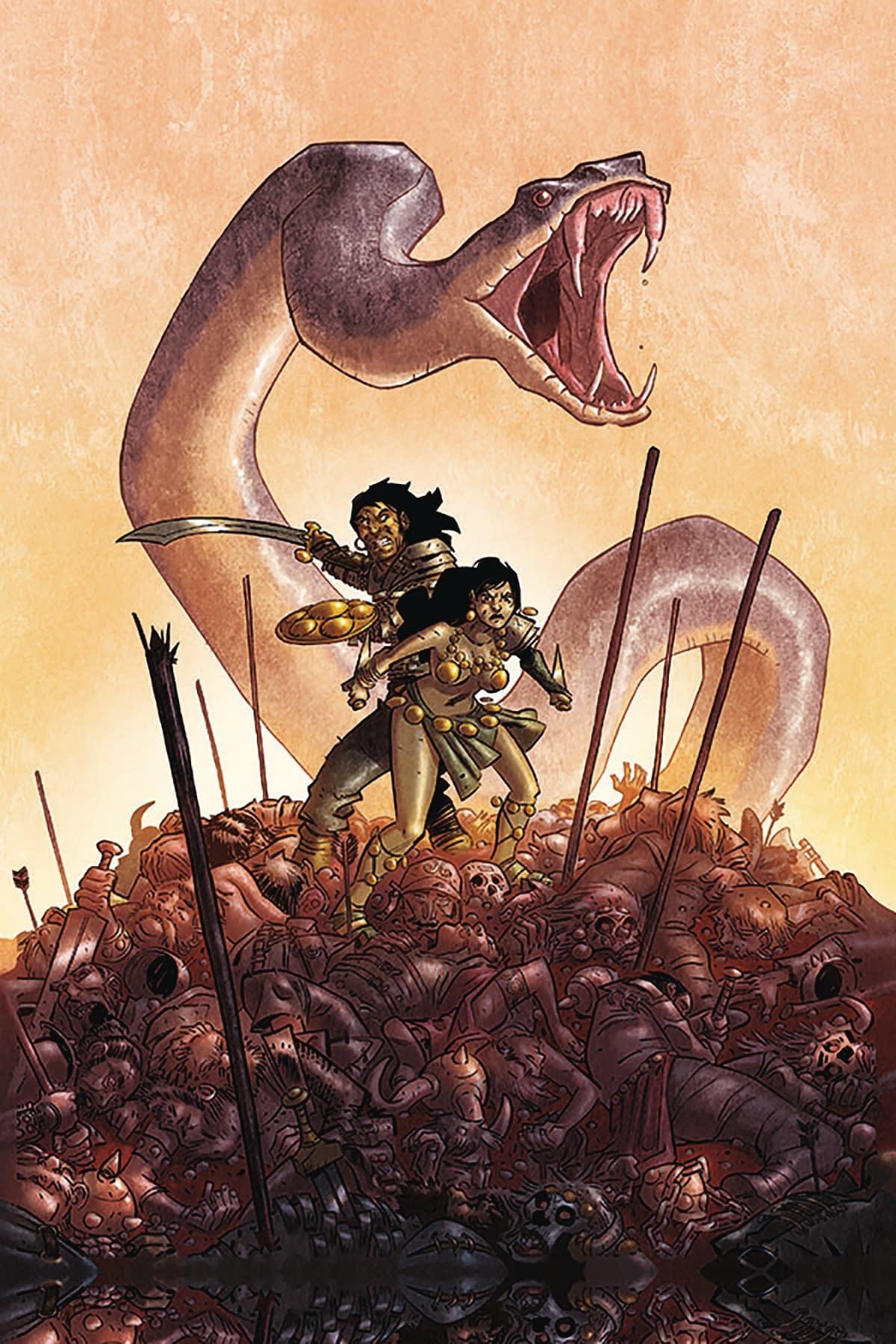 Ablaze Brings Glenat's Uncensored, Violent, Sexual Conan Comics to U.S. in October