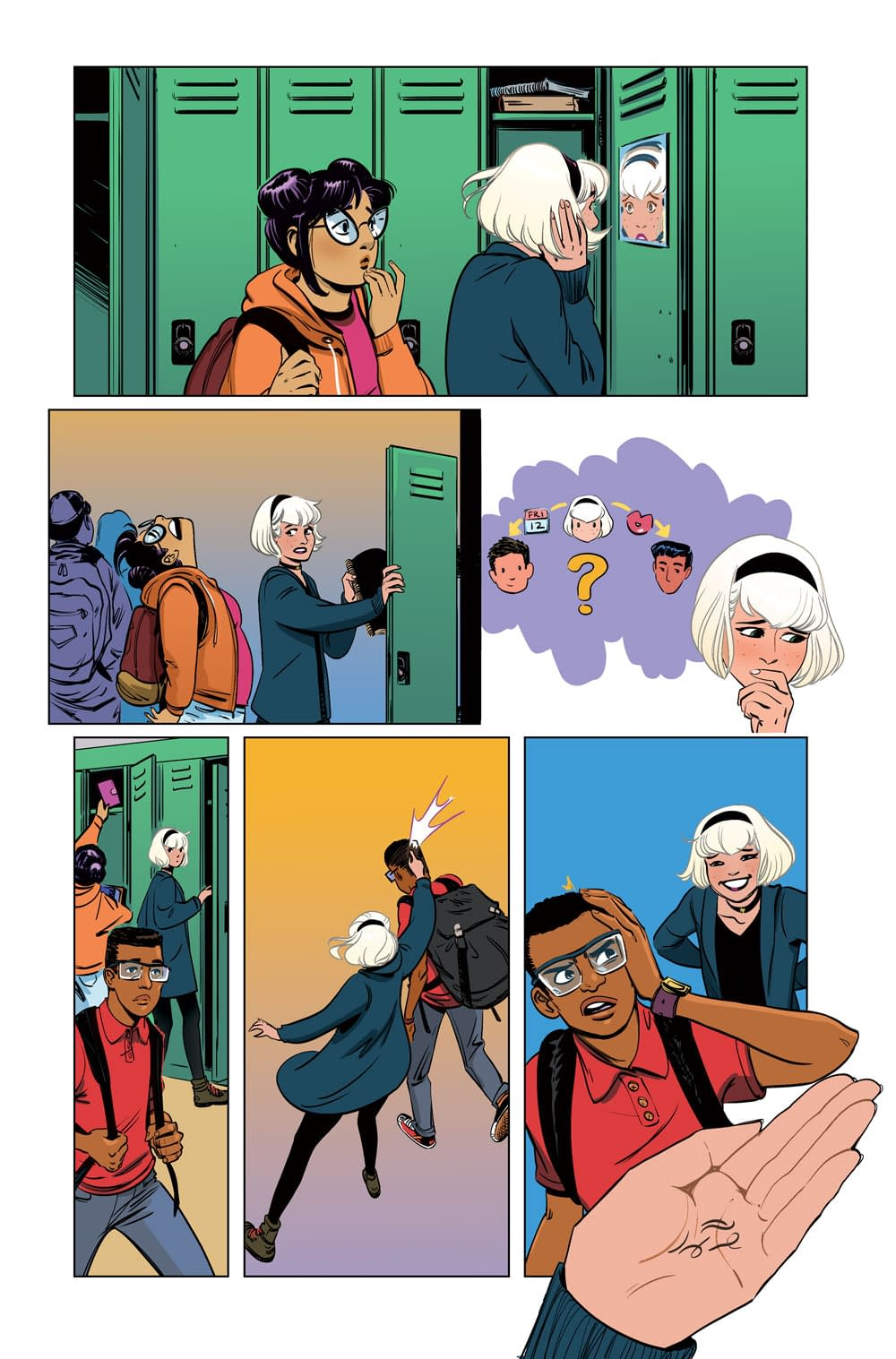 A Witch Hunt Comes to Greendale in Sabrina the Teenage Witch #4 FOC Preview