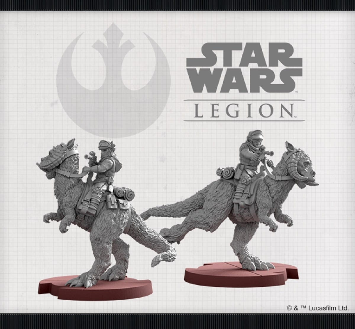 """Tauntaun Riders Charge Into Battle for """"Star Wars: Legion"""""""