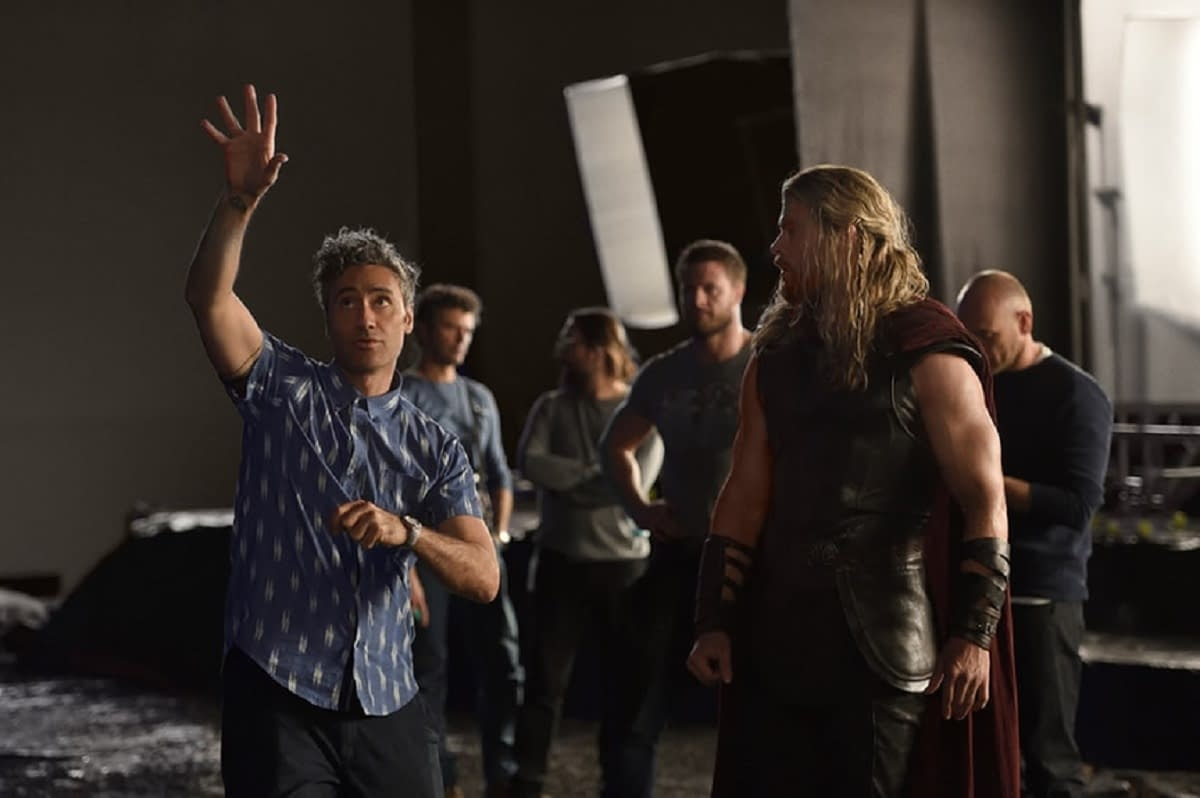 """Thor: Love and Thunder"" Director Taika Waititi on Thor Odinson's Status – New ""Power Couple""?"
