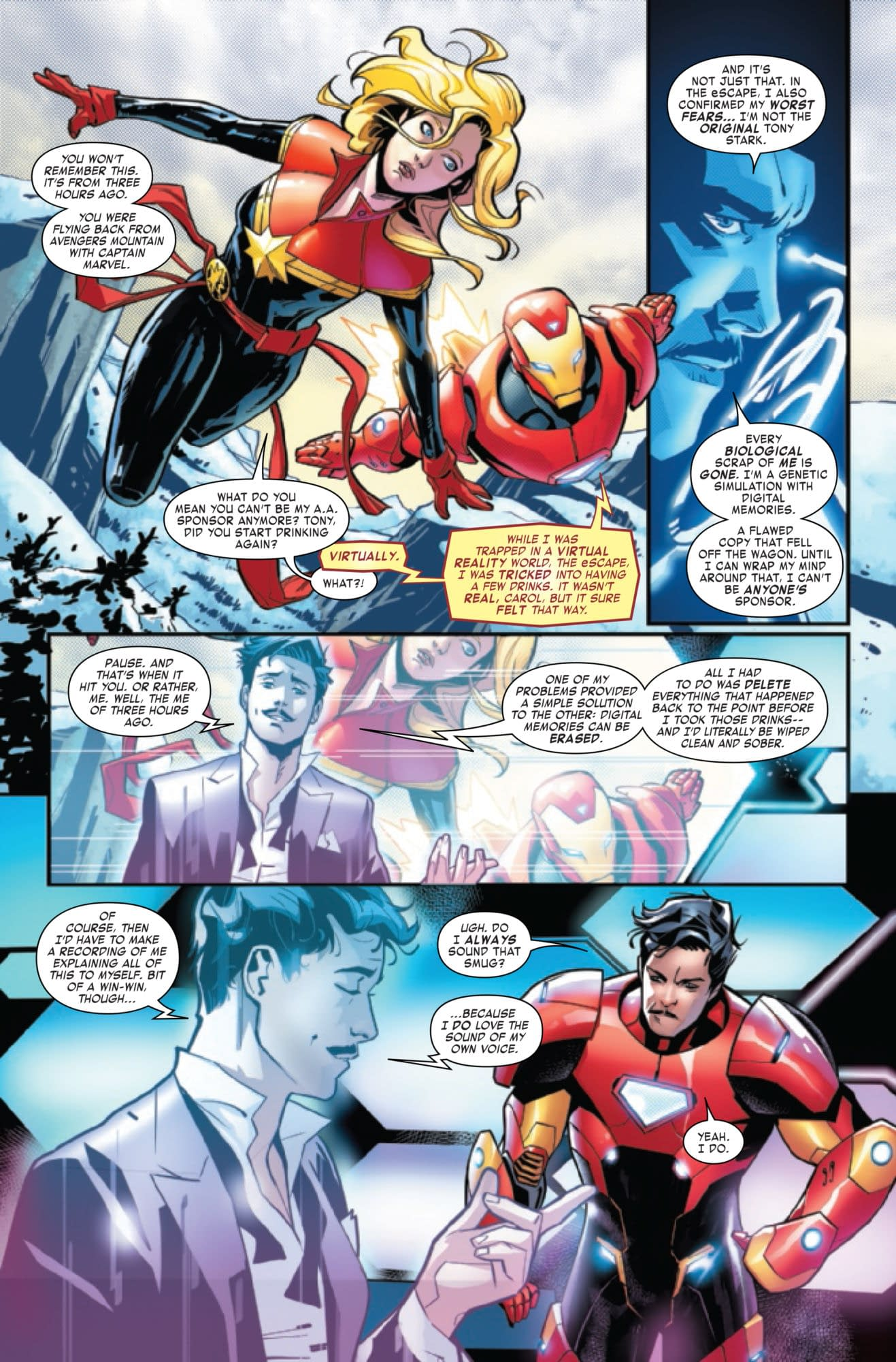 Tony Stark Has Found a Cure for Alcoholism in Iron Man #14 [Preview]