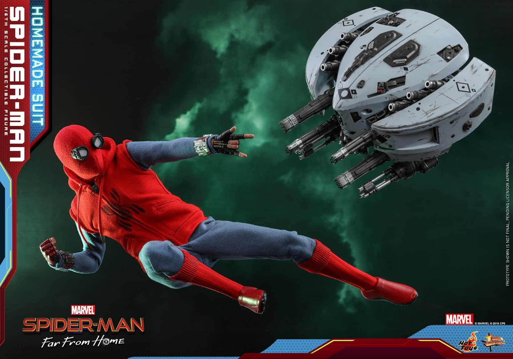 Fight through Mysterio's Illusions with New Hot Toys Spider-Man Figure