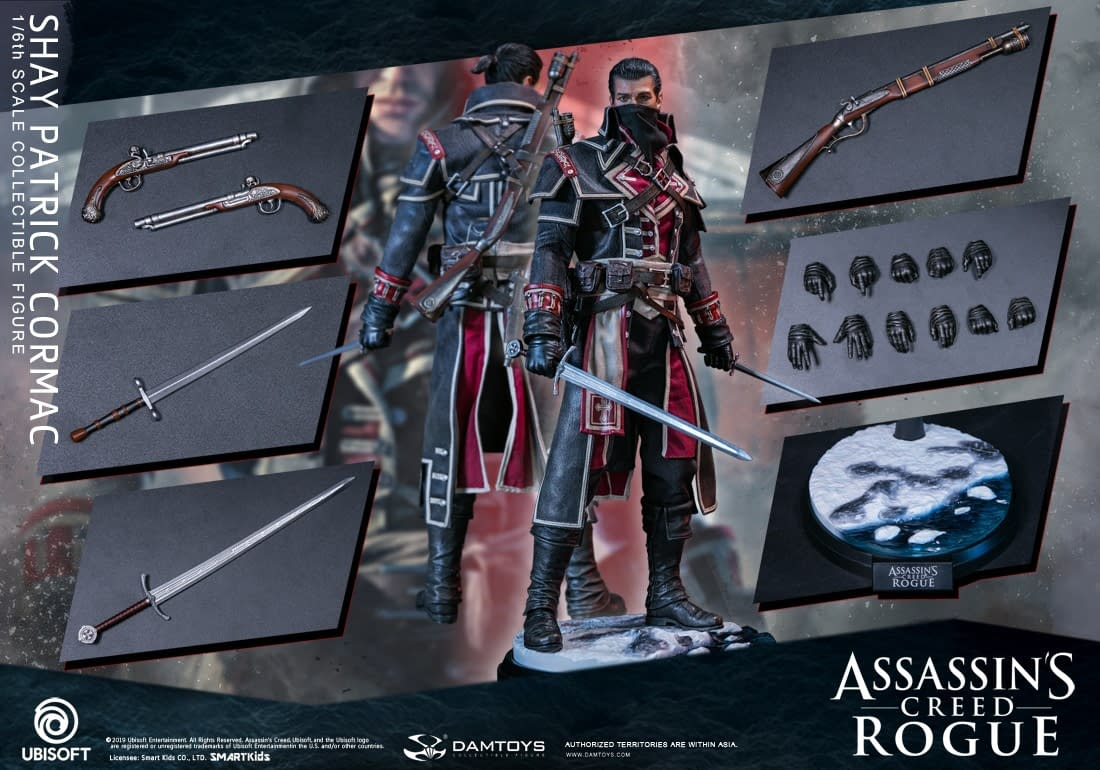 """""""Assassin's Creed: Rogue"""" Gets Collectible Treatment from DAMTOYS [PREVIEW]"""