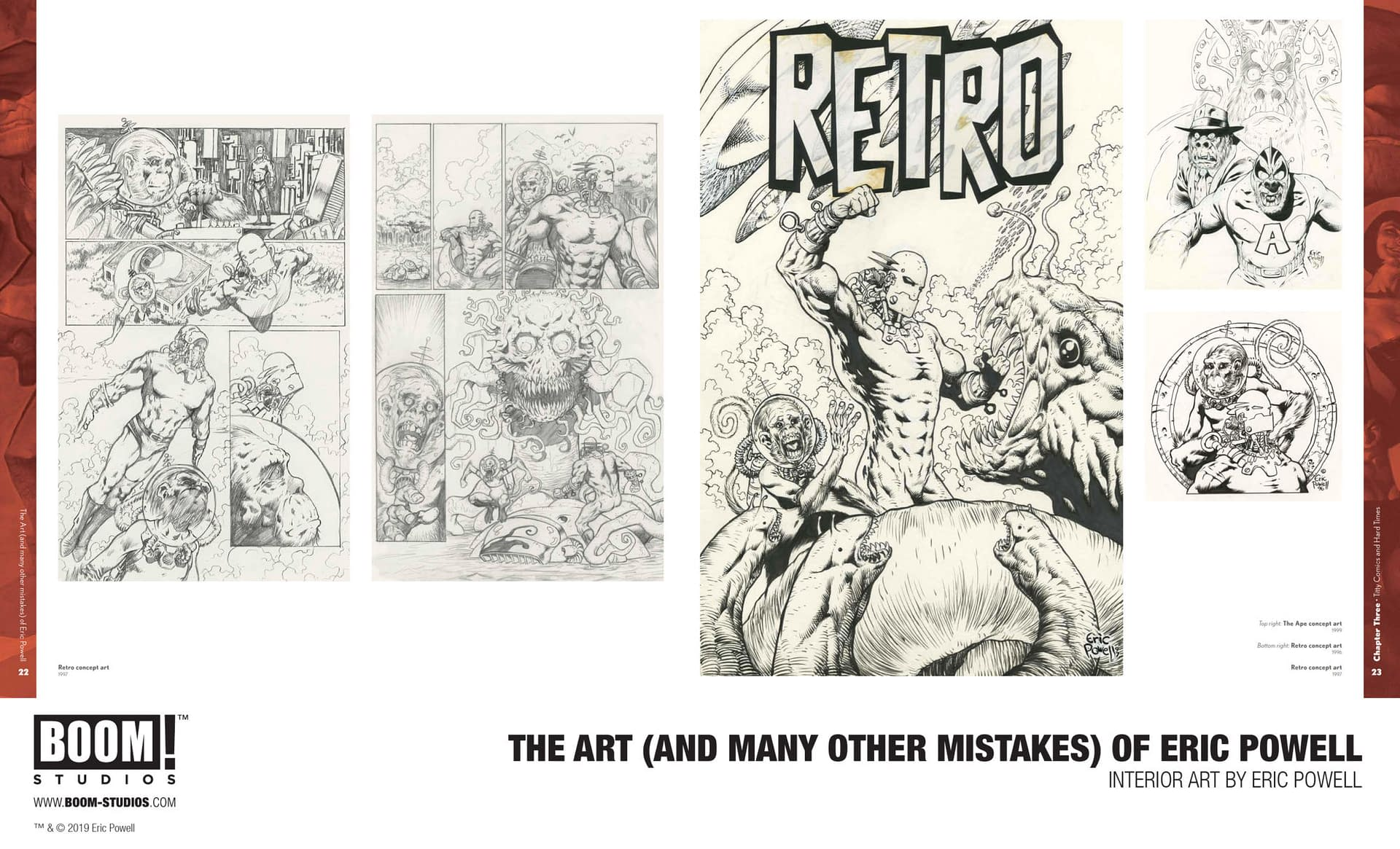 BOOM! Reveals First Look at Eric Powell Art Book