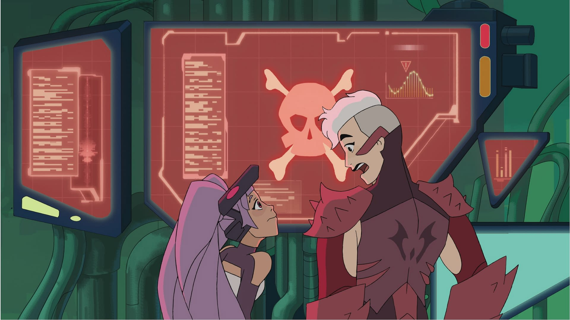 Entrapta and Scorpia