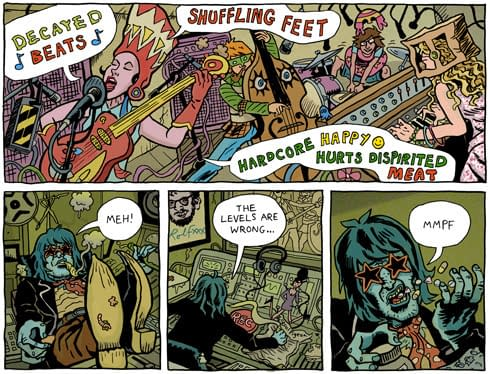 Music and Comics