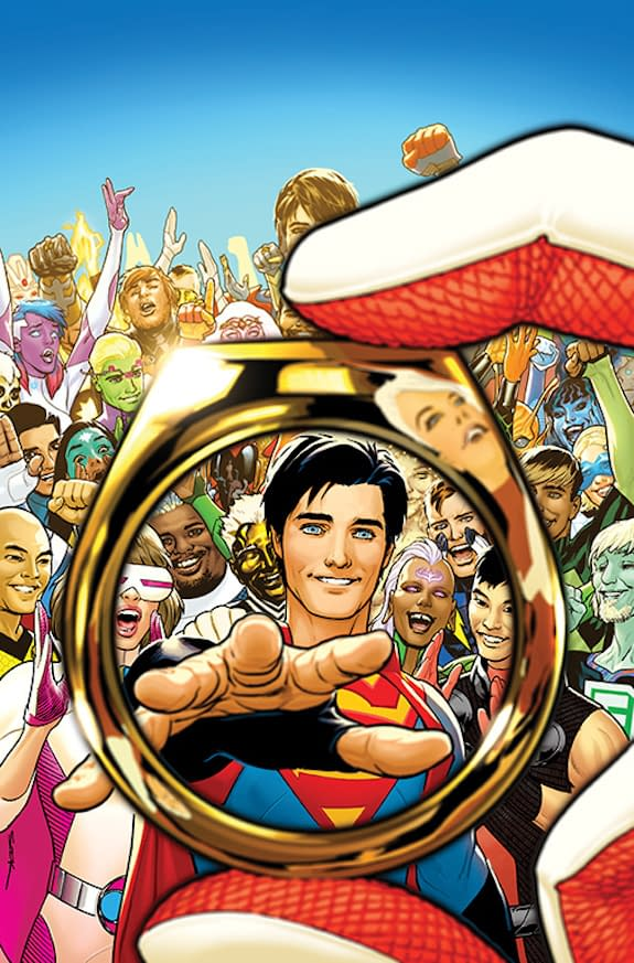 More Flip-Flopping by DC Comics Over the Legion Of Super-Heroes?