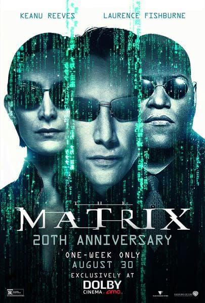 """""""The Matrix"""" Returns to Theaters for 20th Anniversary"""