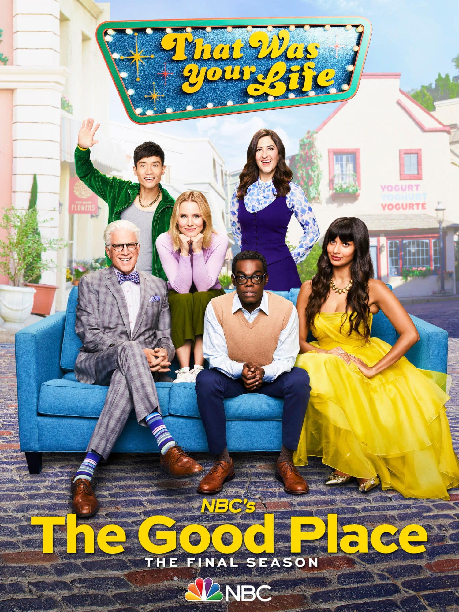 """""""The Good Place"""" S04 """"You've Changed, Man"""": Let's Plan The Afterlife! Plus, Marc Evan Jackson & D'Arcy Carden Channel Their Inner """"Steed/Peel"""" [PREVIEW]"""
