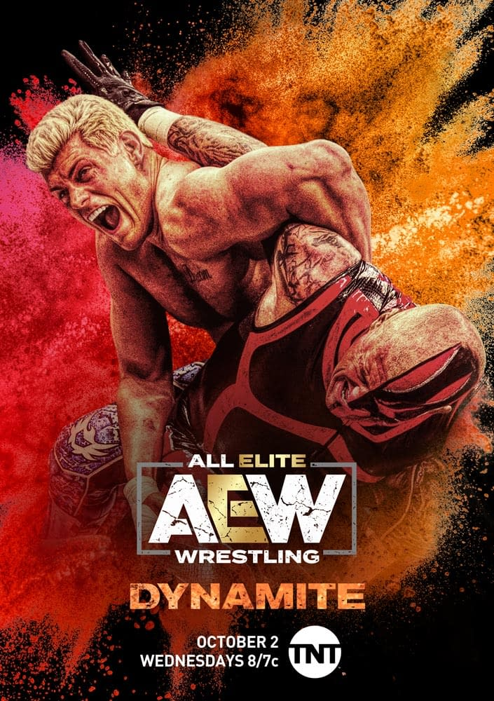 """""""All Elite Wrestling: Dynamite"""": TNT, AEW Announce Weekly Show's Title, Reveal Key Art [PREVIEW]"""