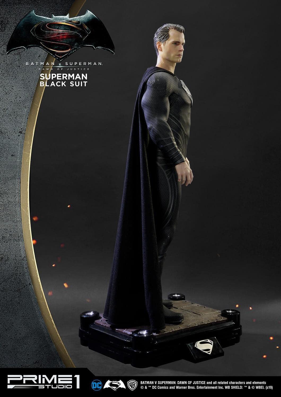 Superman Dons His Black Suit for Pricey Prime 1 Studios Statue
