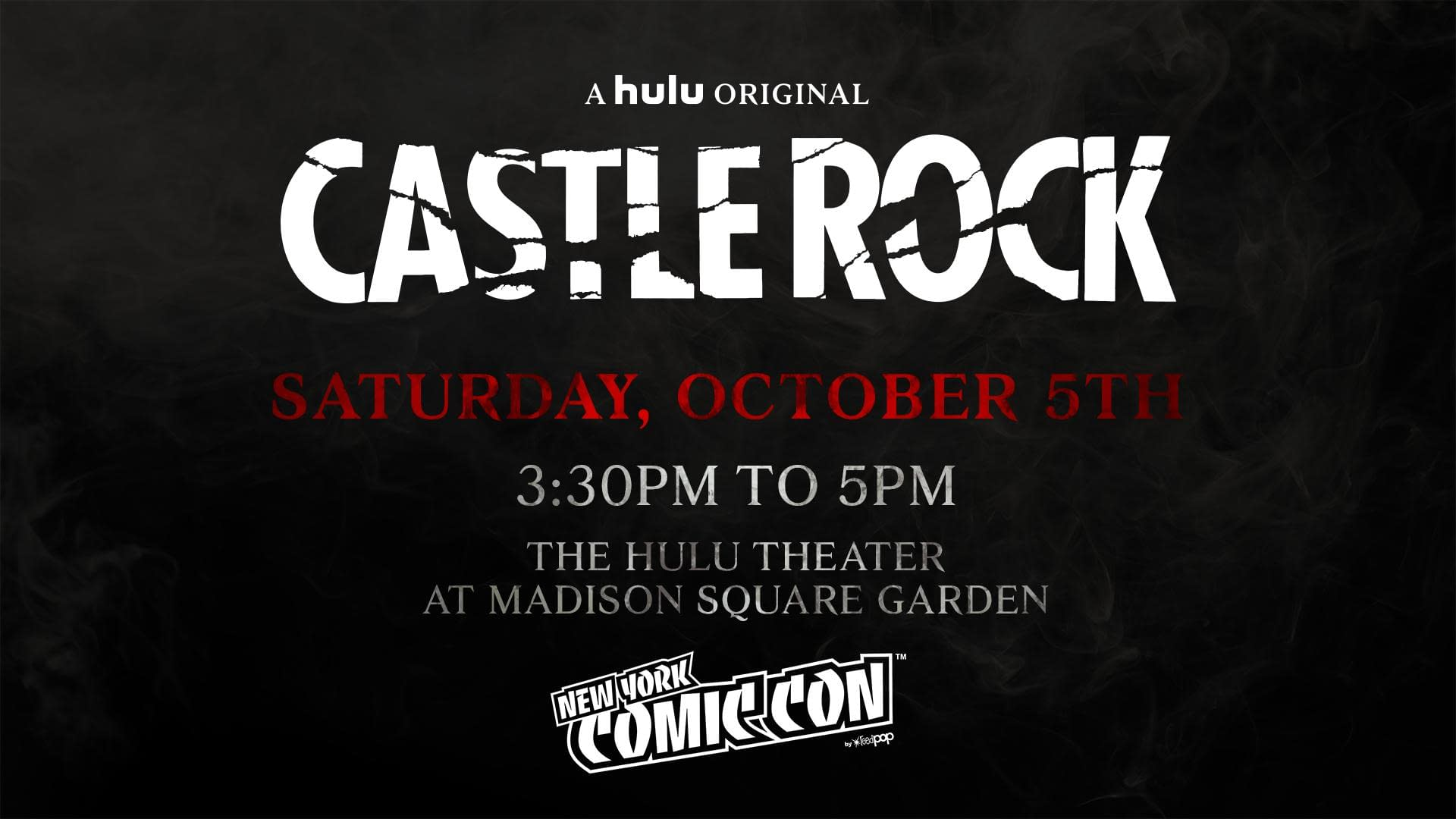 """Castle Rock"" Season 2 World Premiere Screening Set for NYCC 2019"