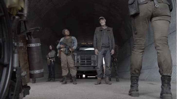 """Fear the Walking Dead"" Season 5 ""Leave What You Don't"":"