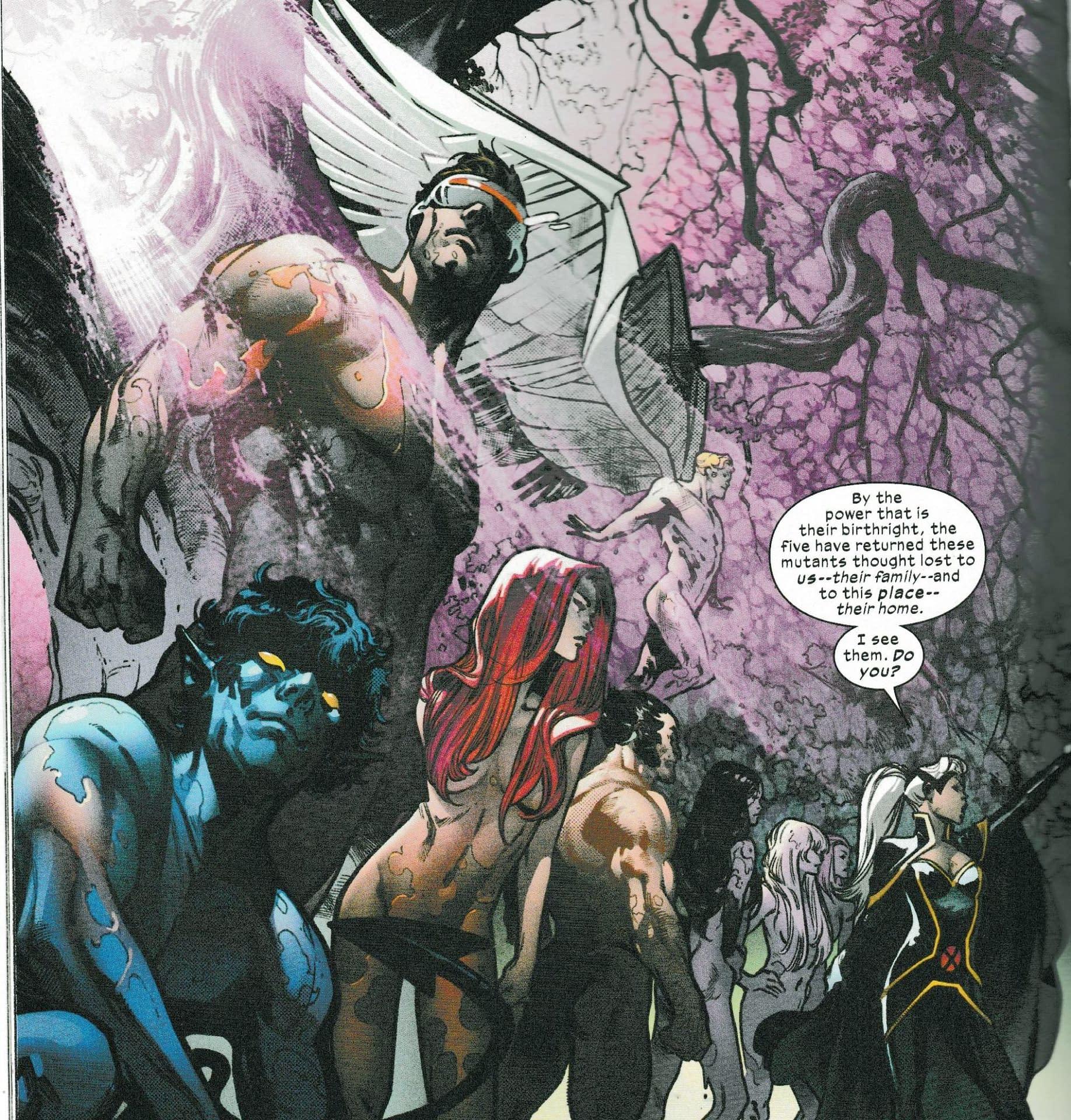 The State of Krakoan Nudity in X-Men #3, Excalibur #3 and Marauders #3 Today (Spoilers)