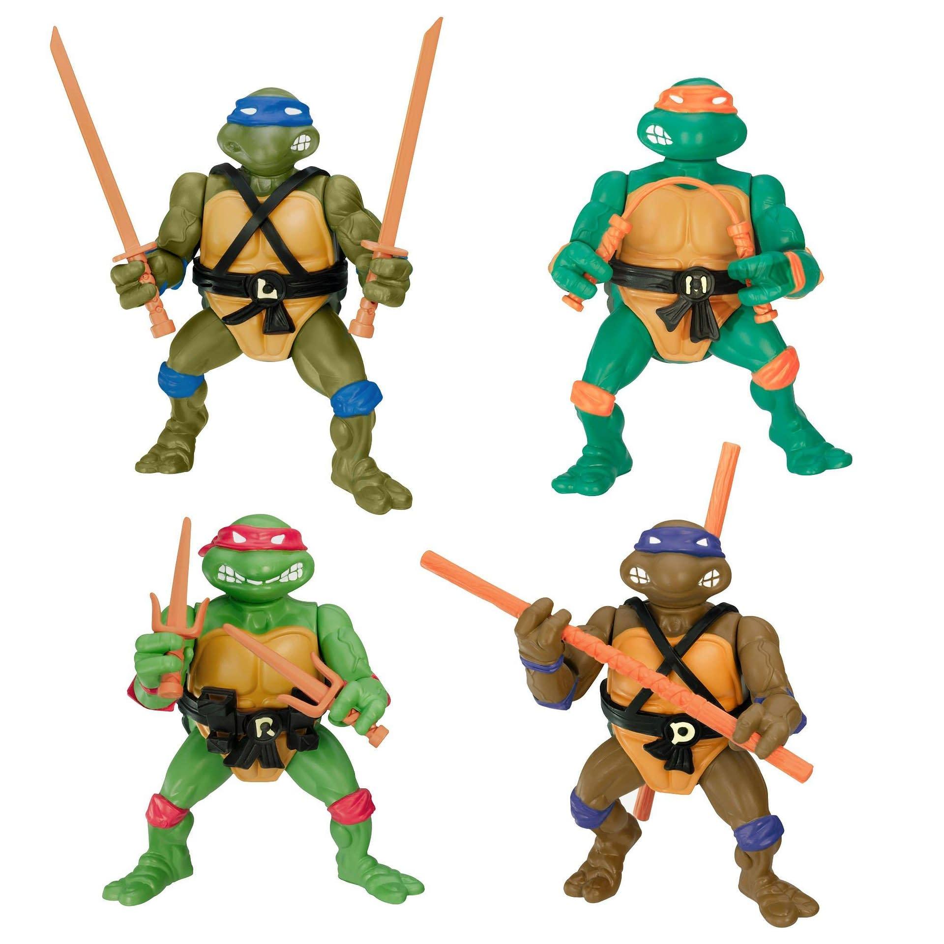 Teenage Mutant Ninja Turtles 1980s Figures Return with Gamestop